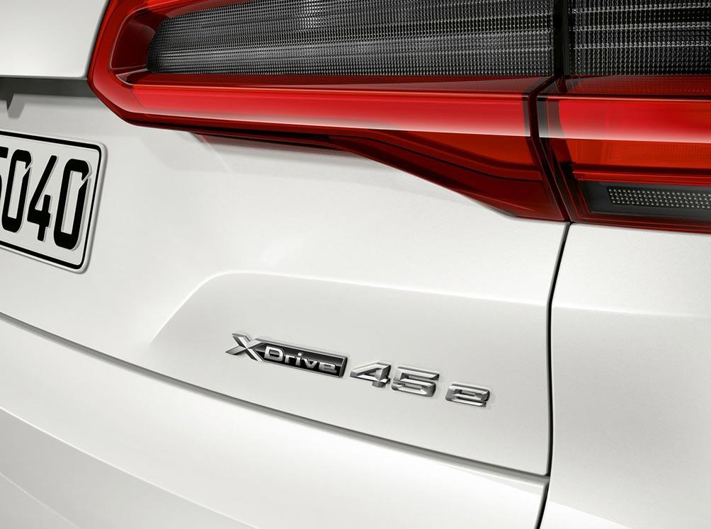 новый BMW X5 xDrive45e