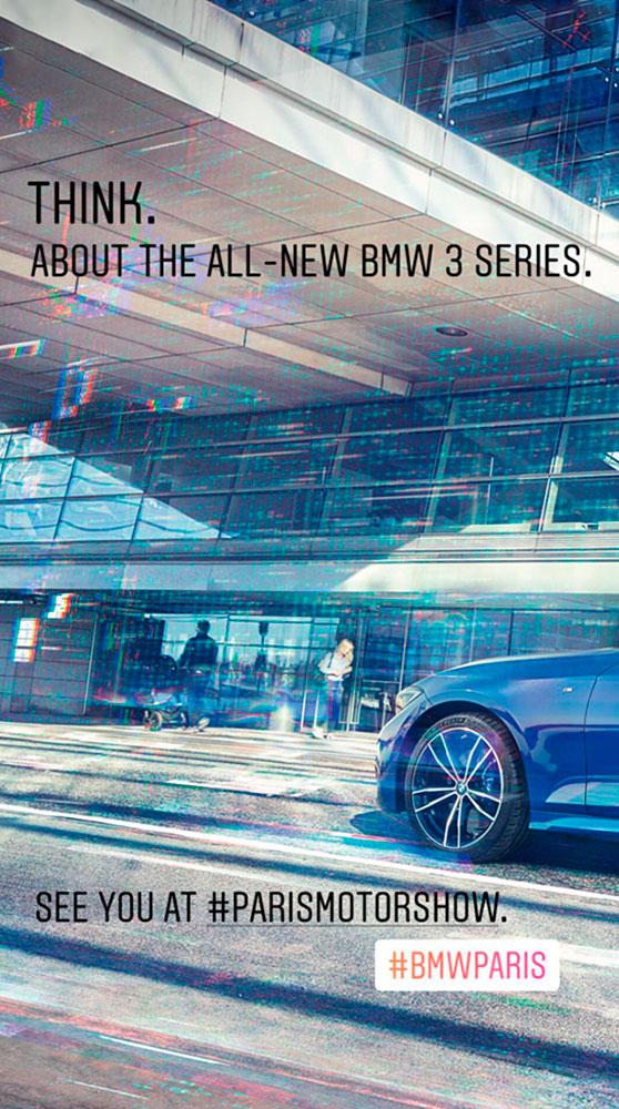 новый bmw 3 g20
