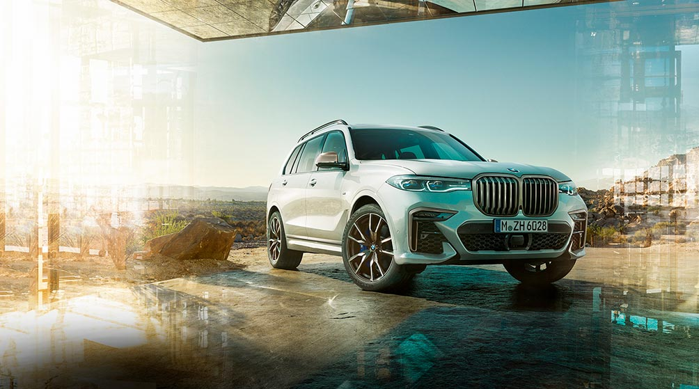 новый bmw x7 m performance