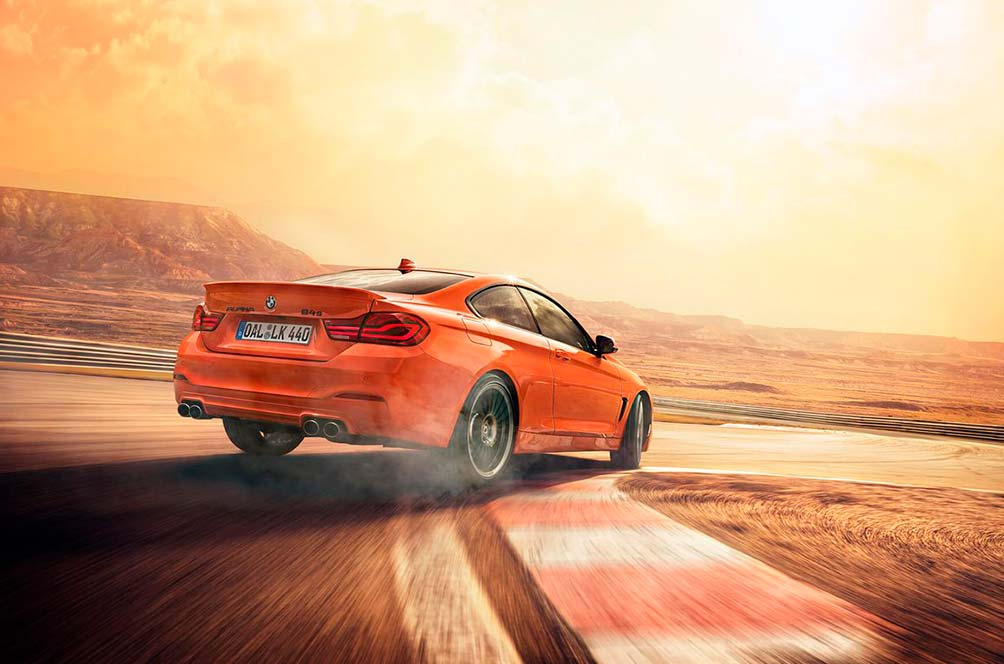 ноый BMW ALPINA B4 Edition 99