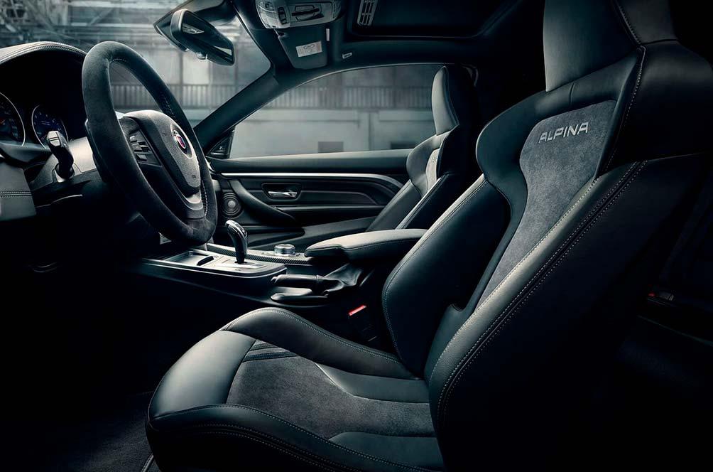 салон BMW ALPINA B4 BiTurbo Edition 99