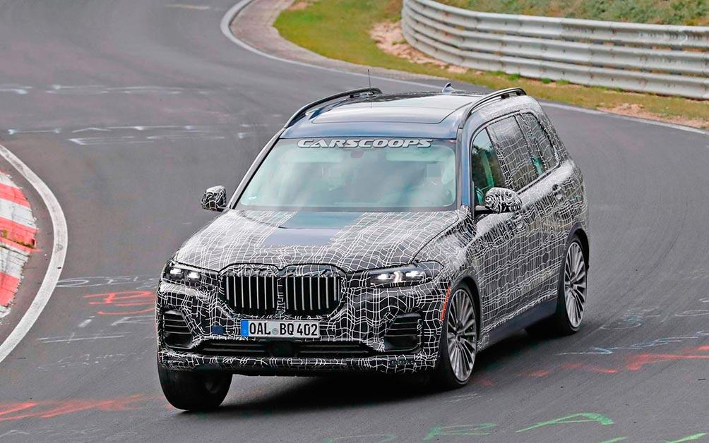 тест BMW ALPINA XD7