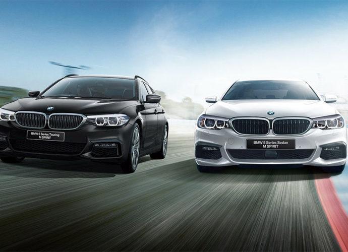 японские BMW 5 Series M Spirit Edition