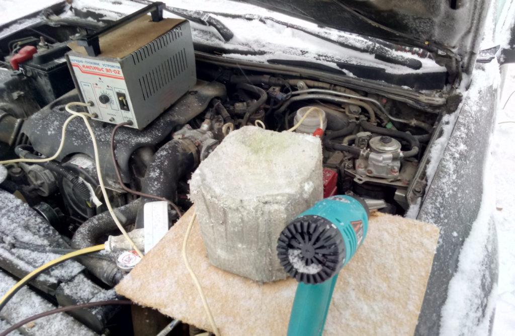 Отогревание солярки в топливном фильтре Паджеро Спорт