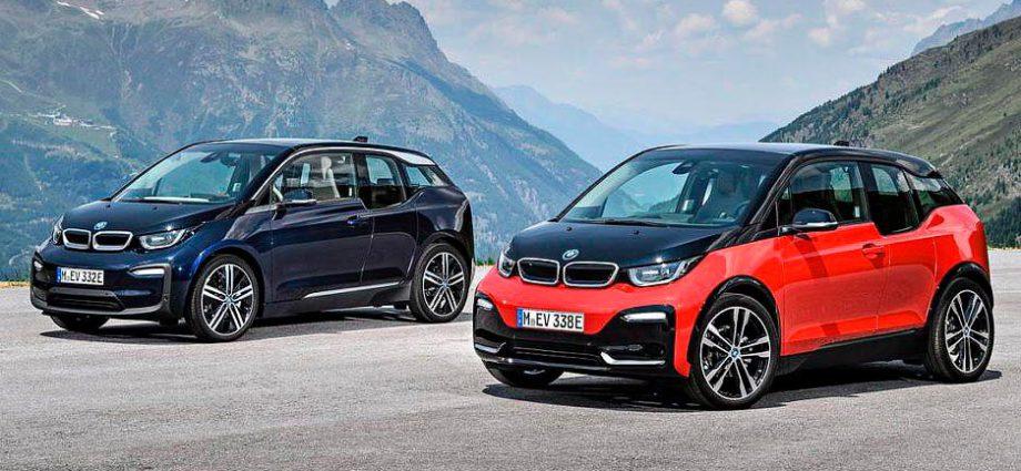 продаже электромобилей bmw выросли