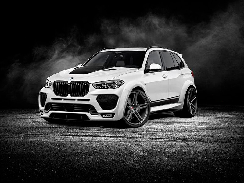 тюнинг bmw x5 m renegade