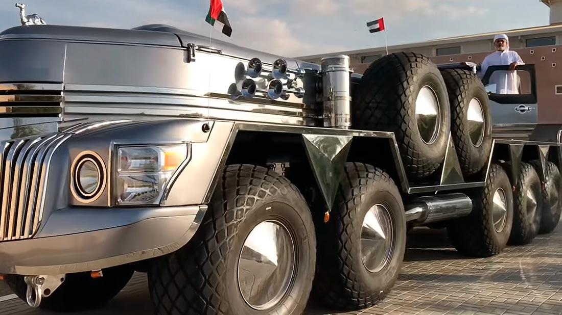 грузовик монстр Dhabiyan