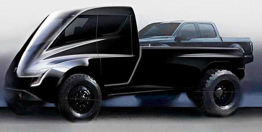 грузовик и пикап от Tesla