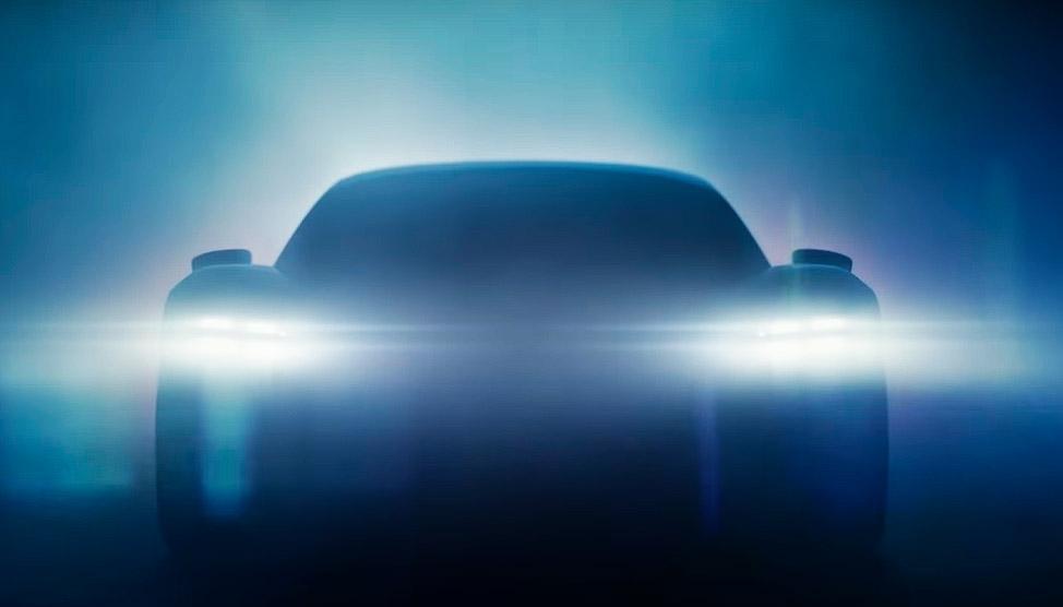 новый Porsche Taycan