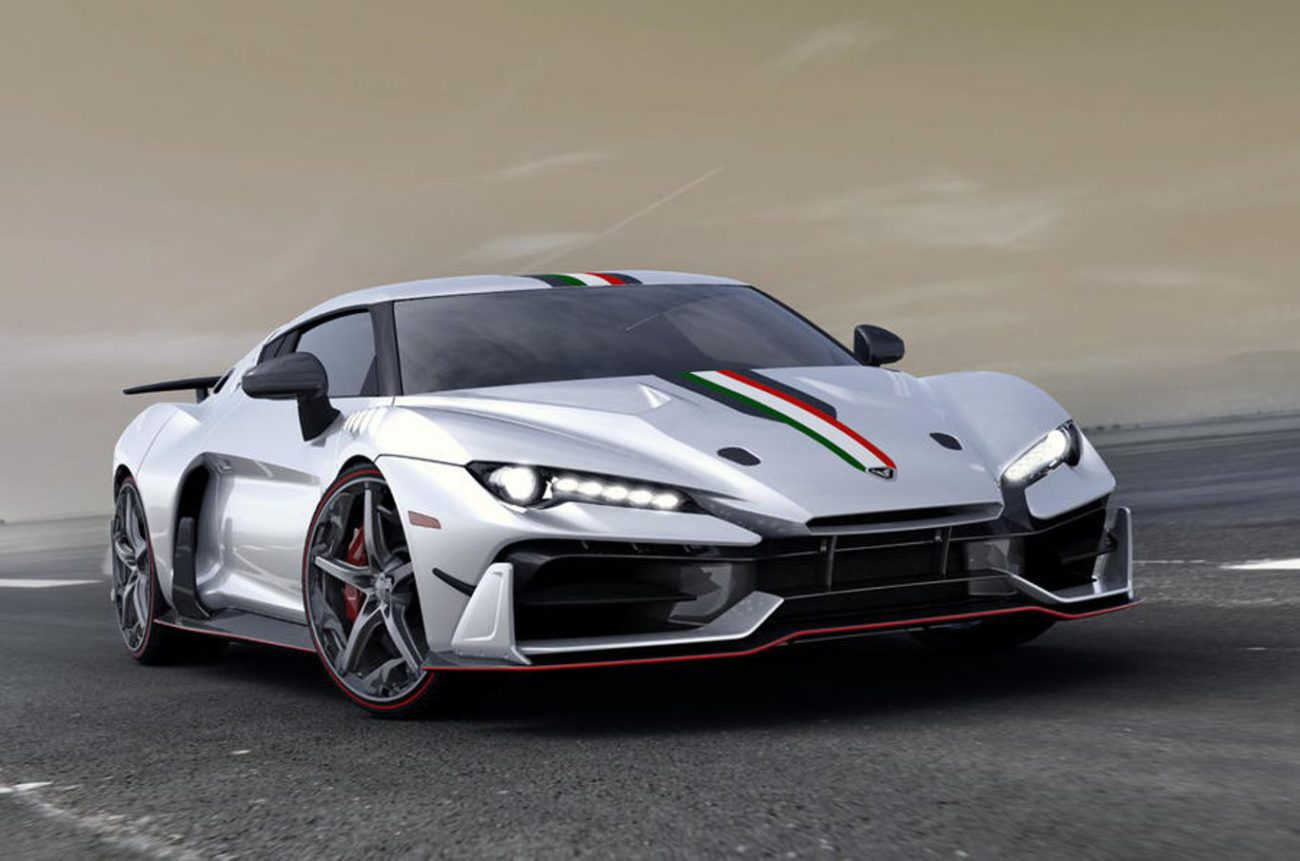 суперкар  Italdesign ZeroUno