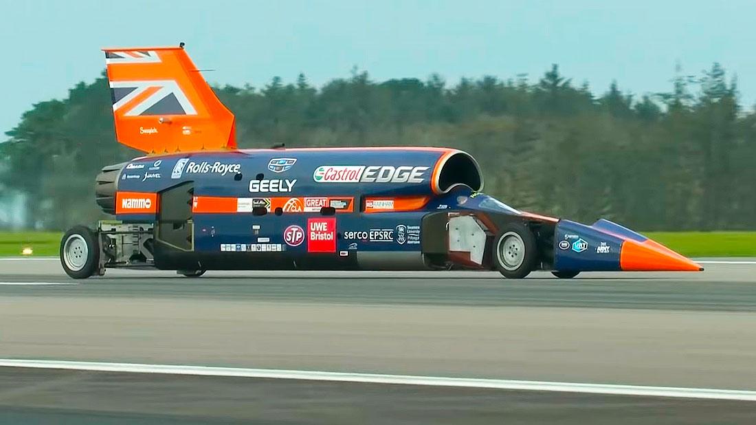 рекорд скорости Bloodhound SSC