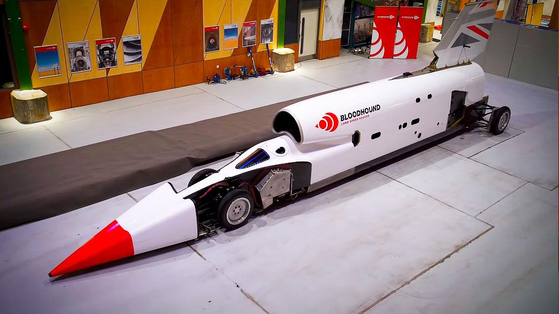 рекорд скорости Bloodhound LSR