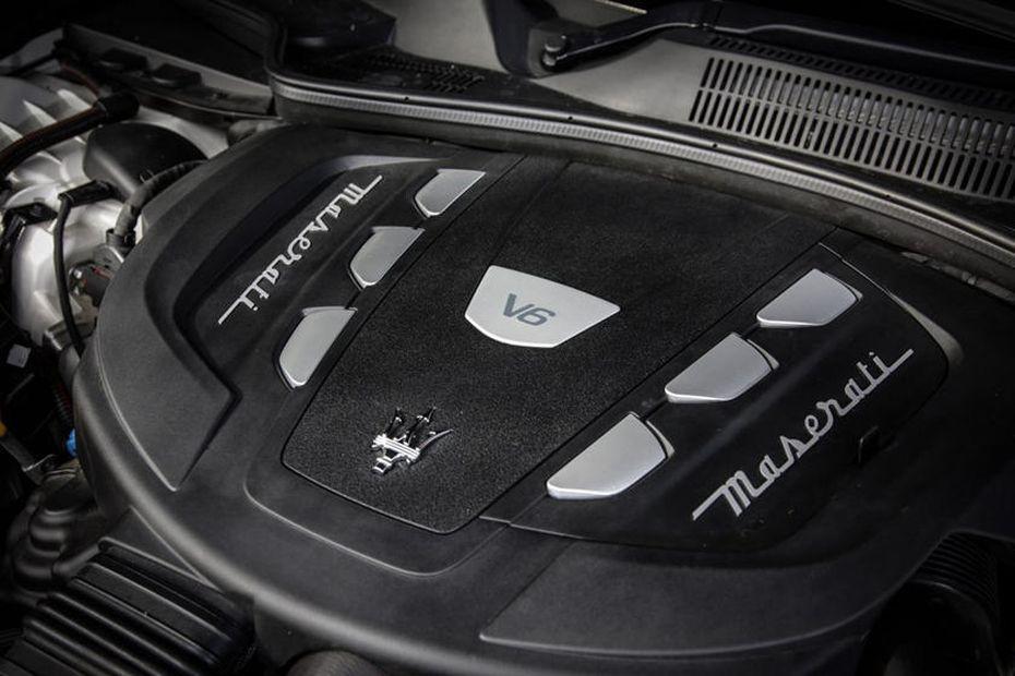 двигатель Maserzti Quattroporte