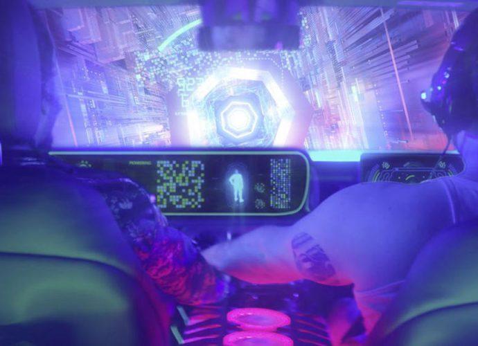 игровые возможности In-Car Gaming Challenge Mercedes