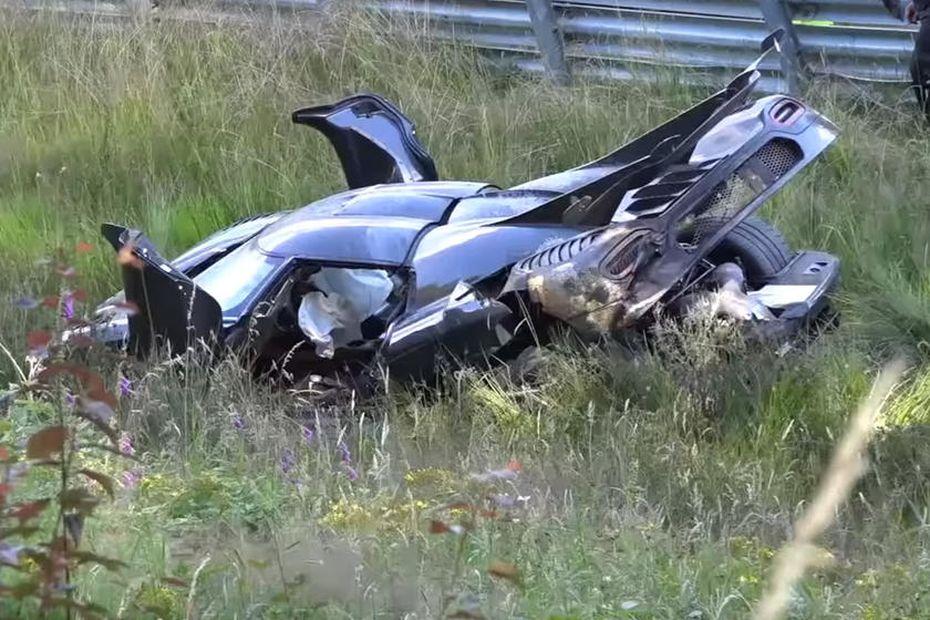 авария Koenigsegg Agera RS