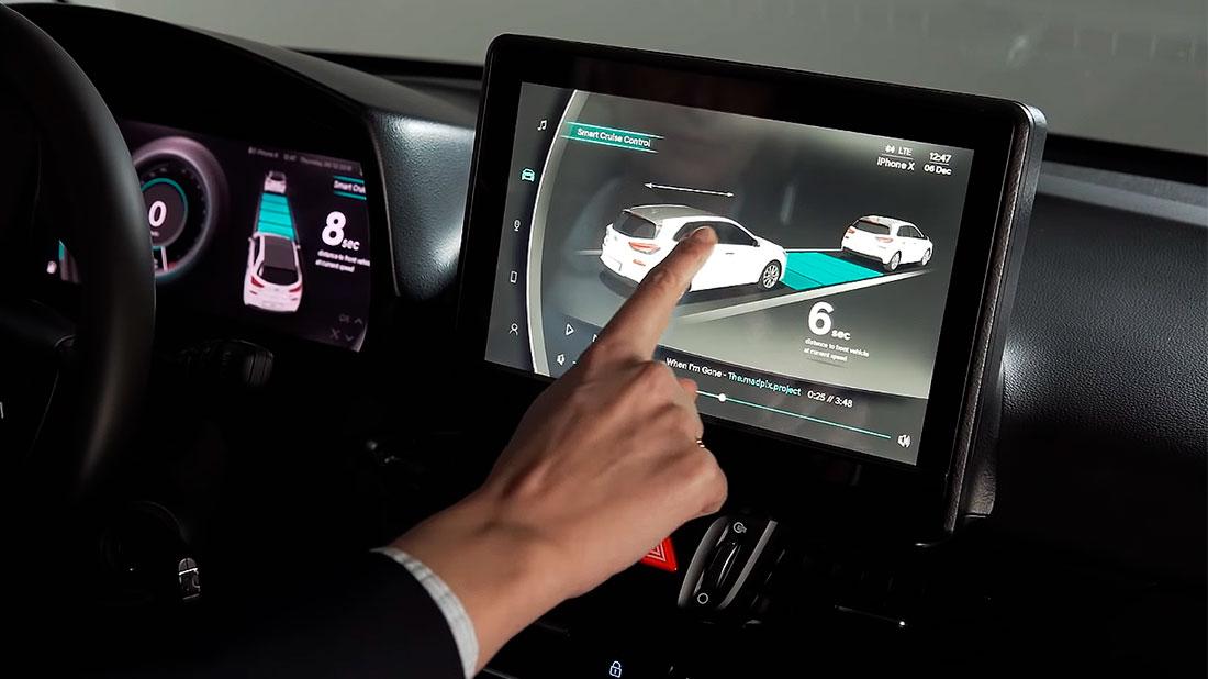 инновационный Hyundai Virtual Cockpit
