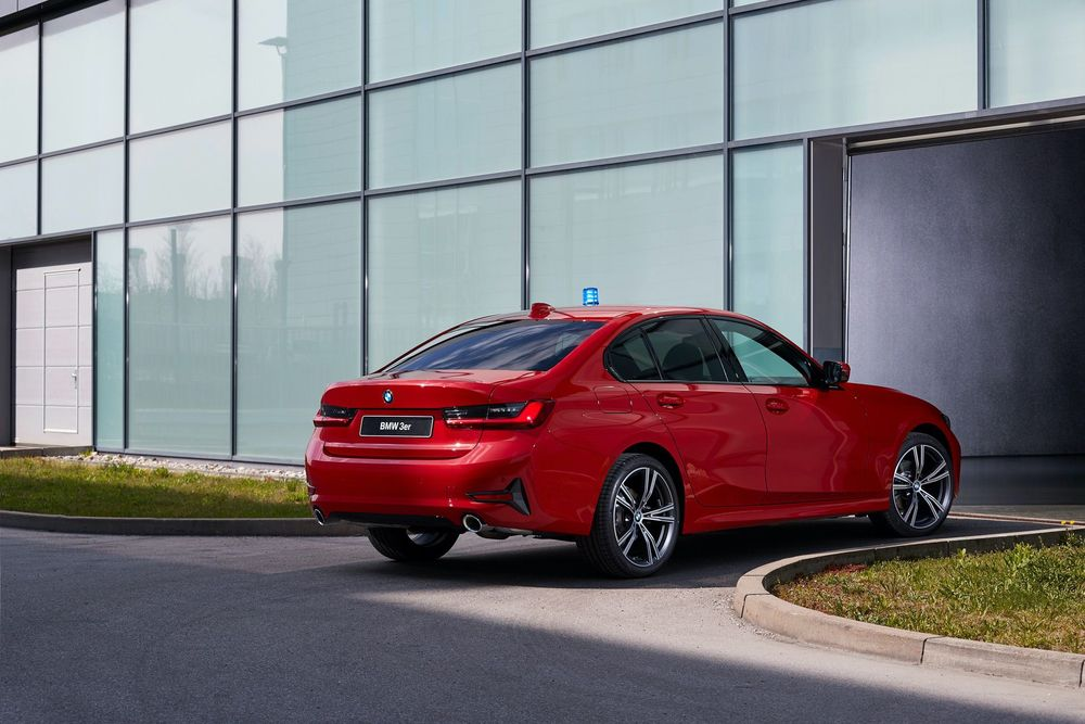 BMW 3 g20 emergency