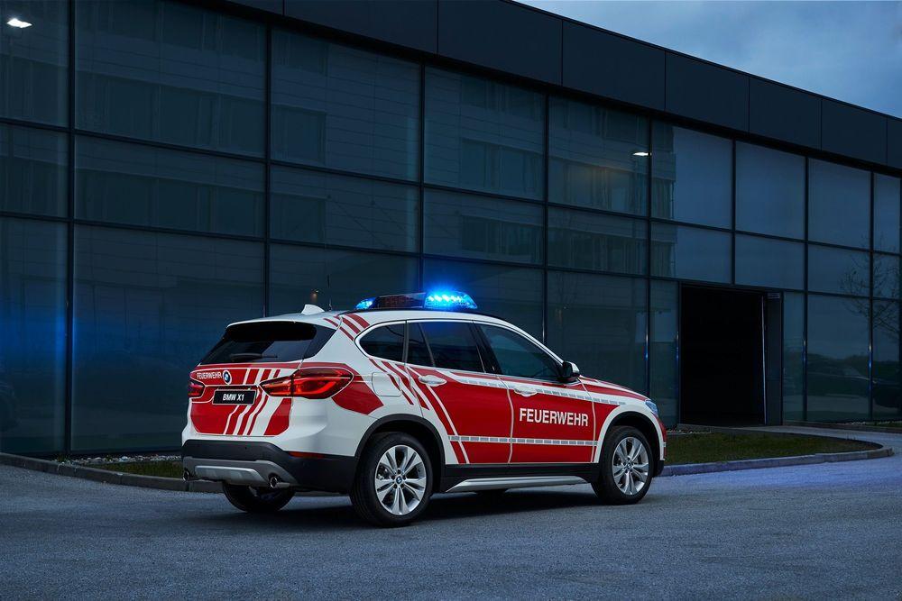 BMW X3 emergency