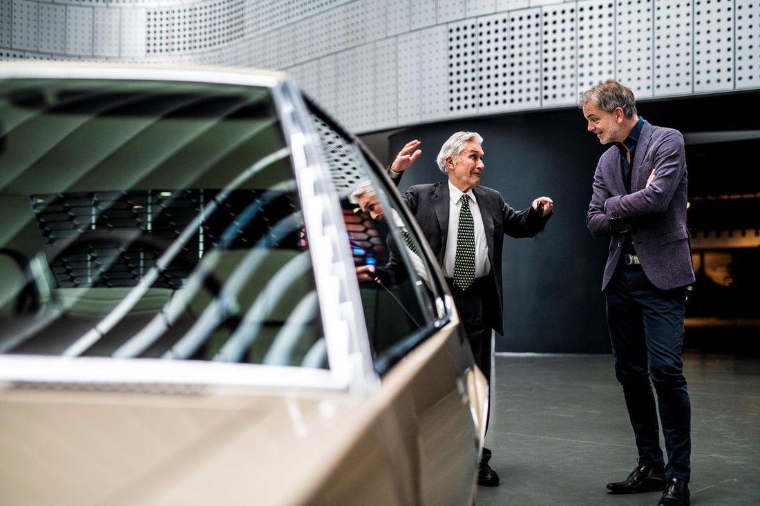 Marcello Gandini и Adrian van Hooydonk