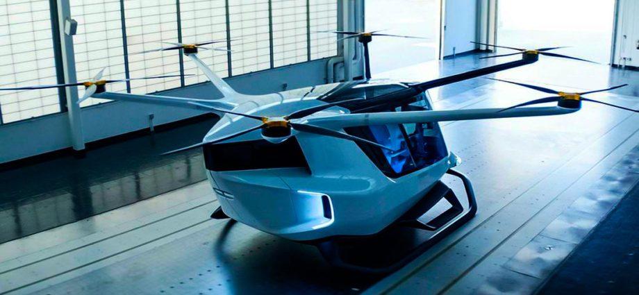 летающее такси bmw