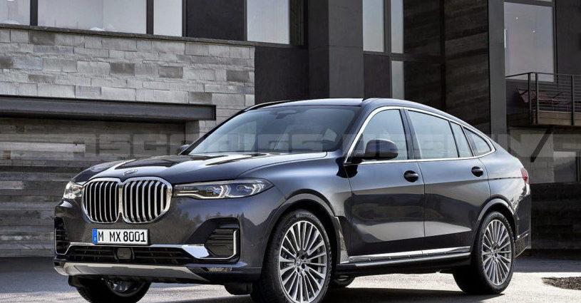 BMW X8 M Рендеринг на основе BMW X7