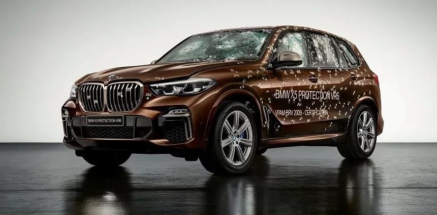 BMW X5 Protection VR6 после обстрела