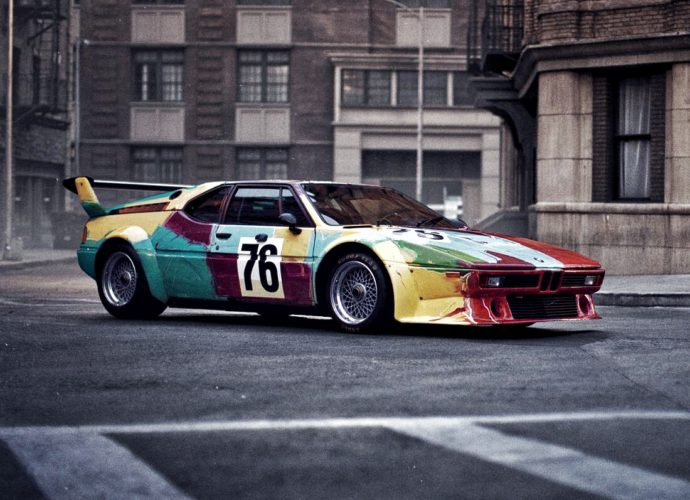 bmw m1 andy worhol