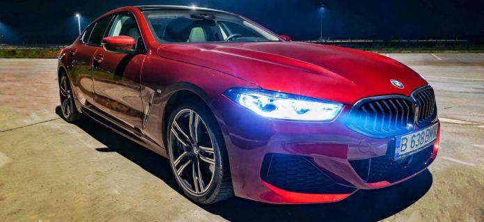 bmw 840d aventurine red