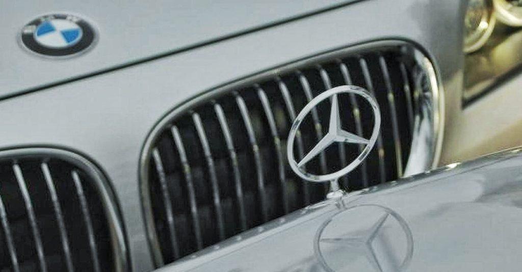 bmw mercedes logo