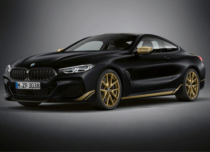 BMW 8 Golden Thunder Edition