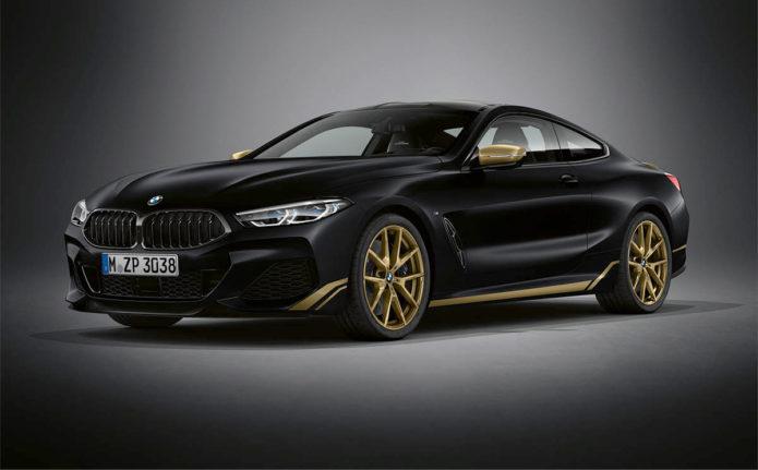 BMW 8 Golden Thunder Edition