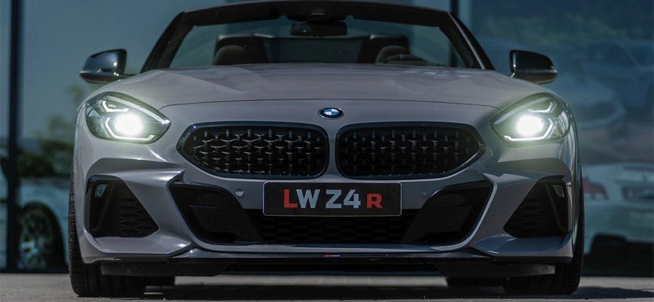 lightweight bmw z4 r