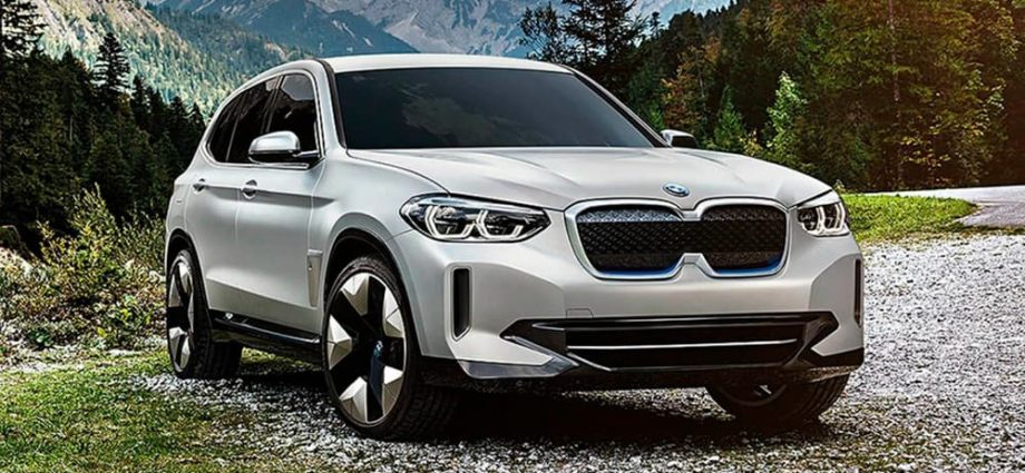 bmw ix3 official