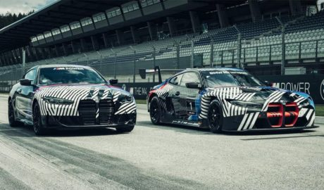 BMW M4 and M4 GT3
