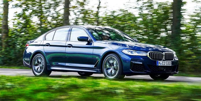 2021 BMW 540i